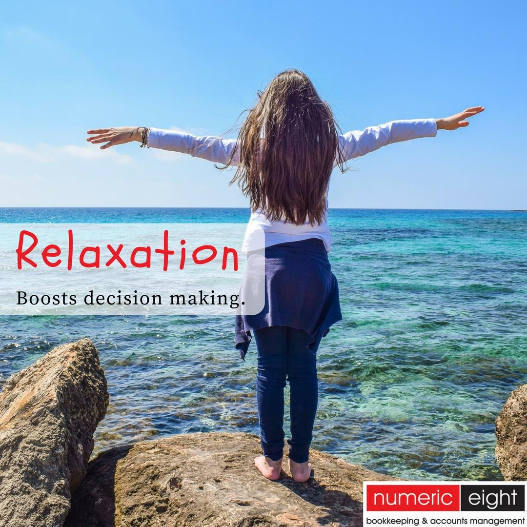 Relaxation Boosts Decision Making